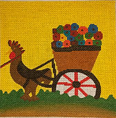 Clementine Hunter Needlepoint
