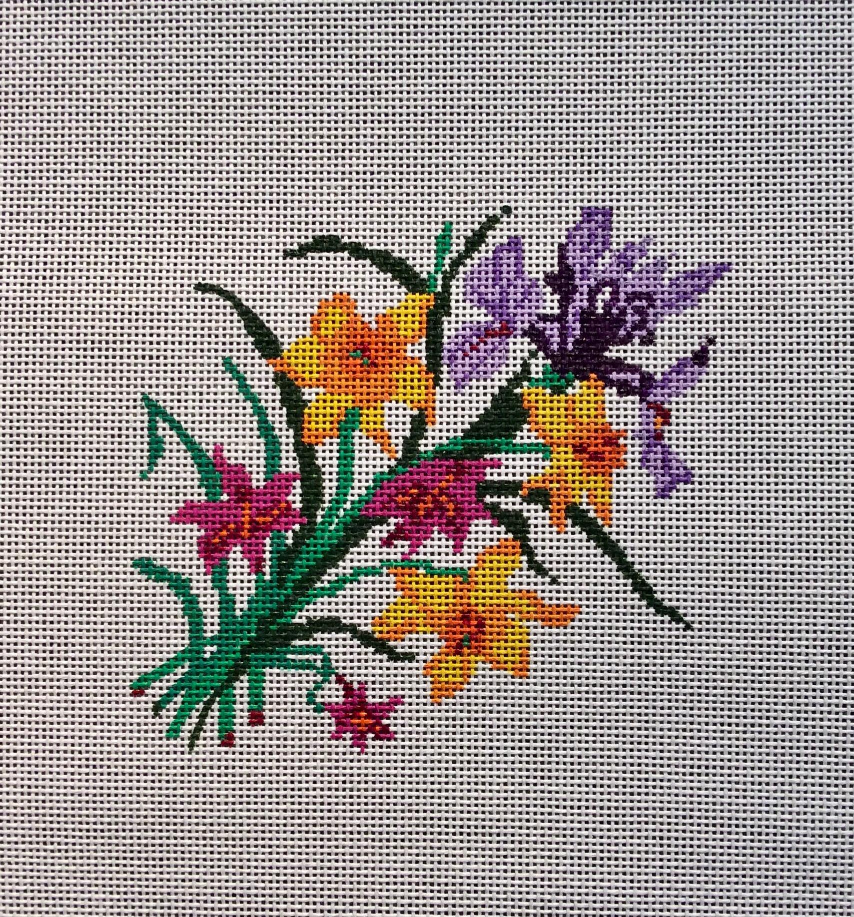 Iris & Daffodils