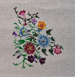 Cornflowers & Petunias