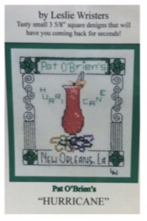 Pat O'Brien's cross stitch chart