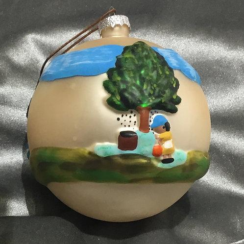Pecan Picking Ornament
