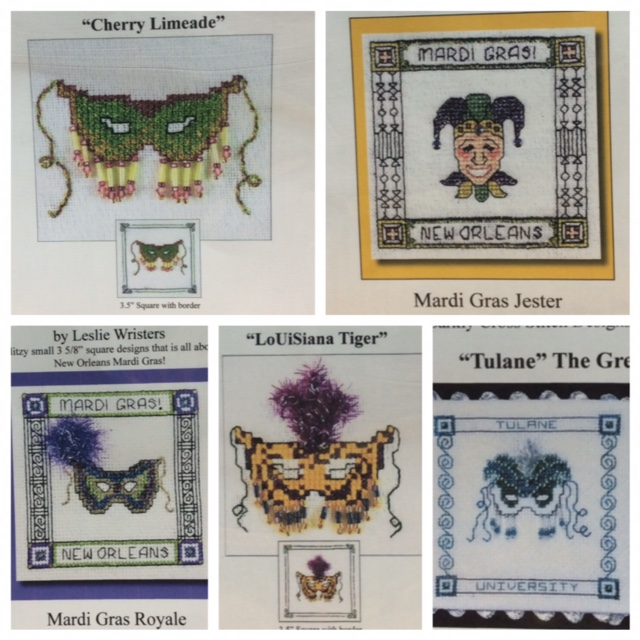 Mardi Gras masks (5 designs)