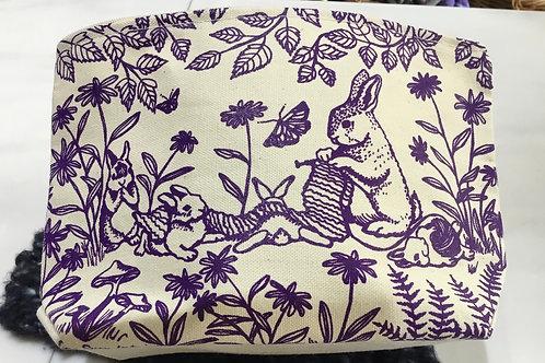 Woodland Knitting Project Bag