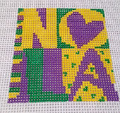 New Orleans Needlepoint