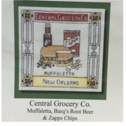Central Grocery Co cross stitch chart