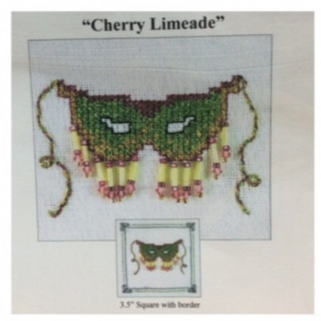 Cherry Limeade Mask cross stitch chart
