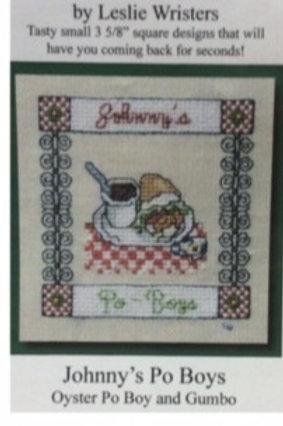 Johnny's Po Boys cross stitch chart
