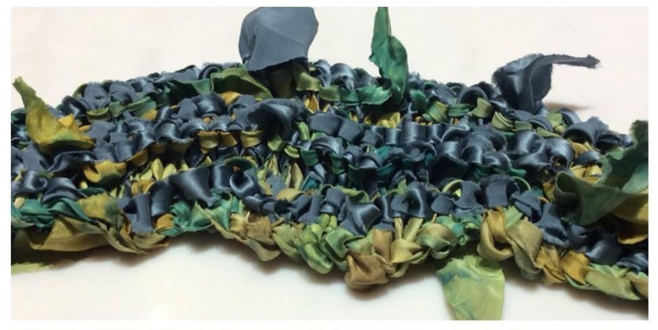 AlQuimie silk scarf
