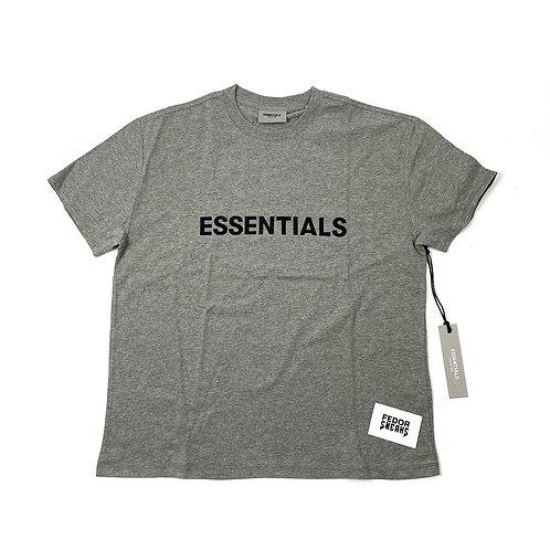 ESSENTIALS X FEAR OF GOD Oat Short Sleeve T-Shirt 'Heather'