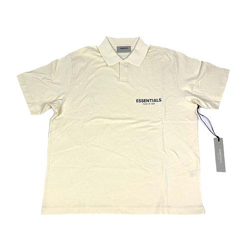 ESSENTIALS X FEAR GOD Cream Polo T Shirt