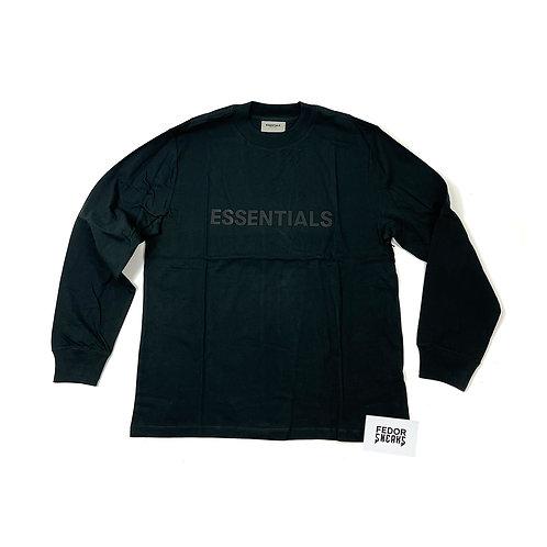 ESSENTIALS X FEAR OF GOD Long Sleeve T-Shirt 'Black'