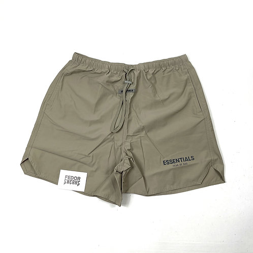 ESSENTIALS X FEAR OF GOD Volley Shorts 'Moss'