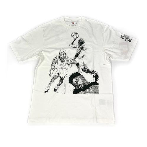 Off White x Jordan T-Shirt 'White'