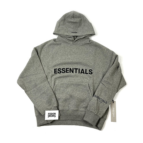 ESSENTIALS X FEAR OF GOD OAT Hoodie 'Heather'