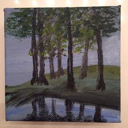 _The Trees__Acrylic