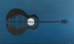 Moonlight Music II - 36x60x1.5