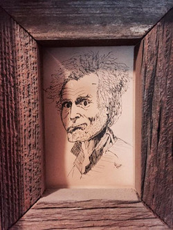 _Old Man___Circa early 1980's__Black ink via dip pen __One of my first.jpg _Hanging at my dads for m