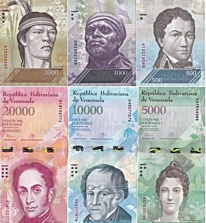 Pagos en Bolívares