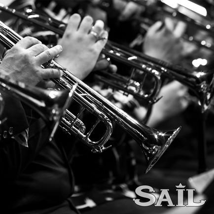 Big Band SAIL black and white INSTAGRAM.