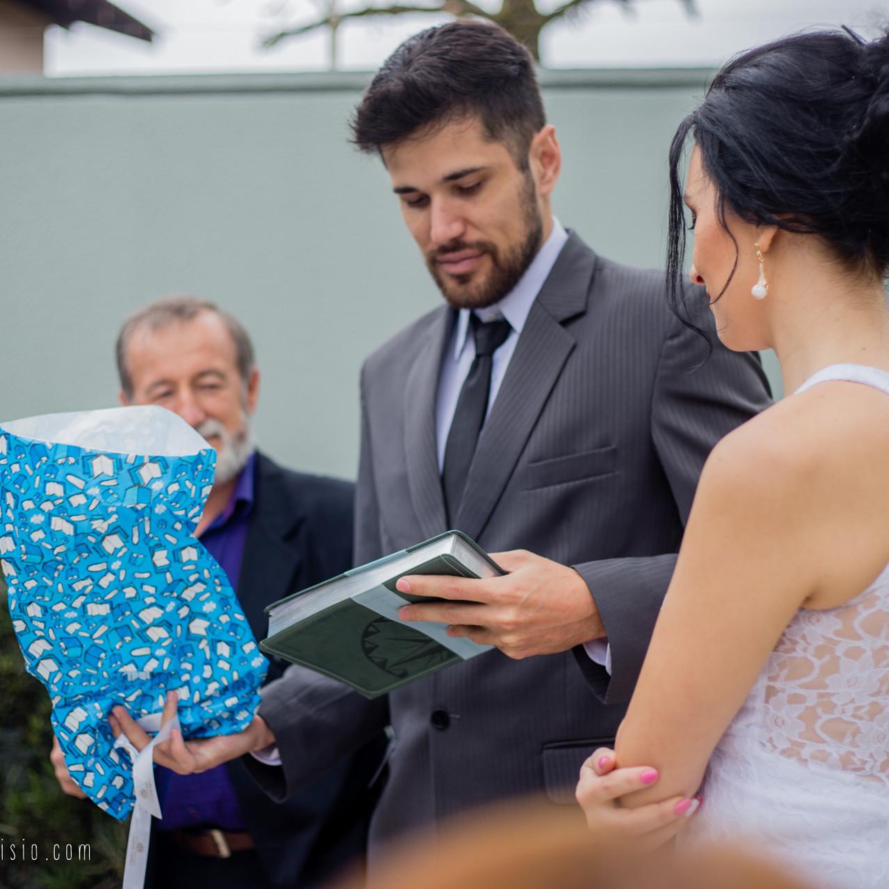Mini-casamento Cris e Diego