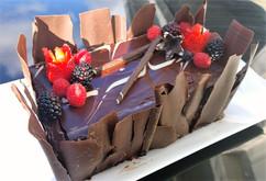 Chocolate Tuxedo Mousse Cake