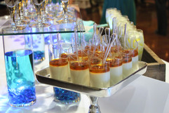 Panna Cotta Shooters with Passion Fruit Glaze