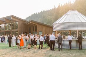 Megan & Noah's wedding at North Fork Farms  Photo by Shaunae Teske