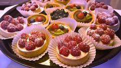 Fruit & Chocolate Tarts