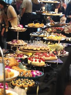 A Grand Dessert spread