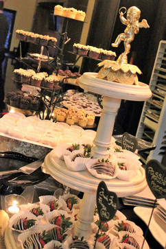 Dessert Reception Display
