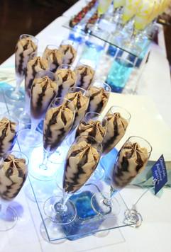 Chocolate Hazelnut Flutes