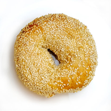 White Sesame Bagel