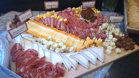 Specialty Cheese & Salami Display