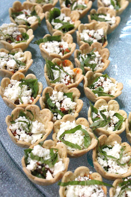 Red Pepper Tapinade Annabelle Cups
