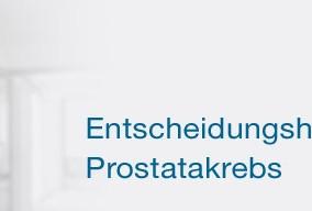 Entscheidungshilfe Prostatakrebs