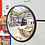 Thumbnail: Зеркало обзорное для помещений круглое