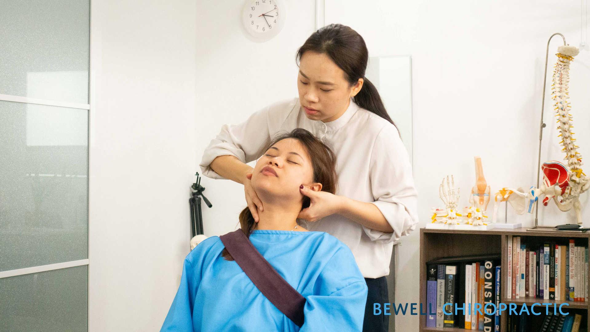 chiropractic neck pain