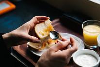 Pan y jamon