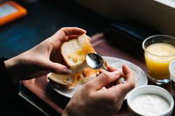 Brot und Marmelade