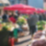 食品市場の人々