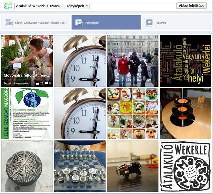 Facebook albumok