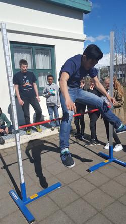 High Jump Champion