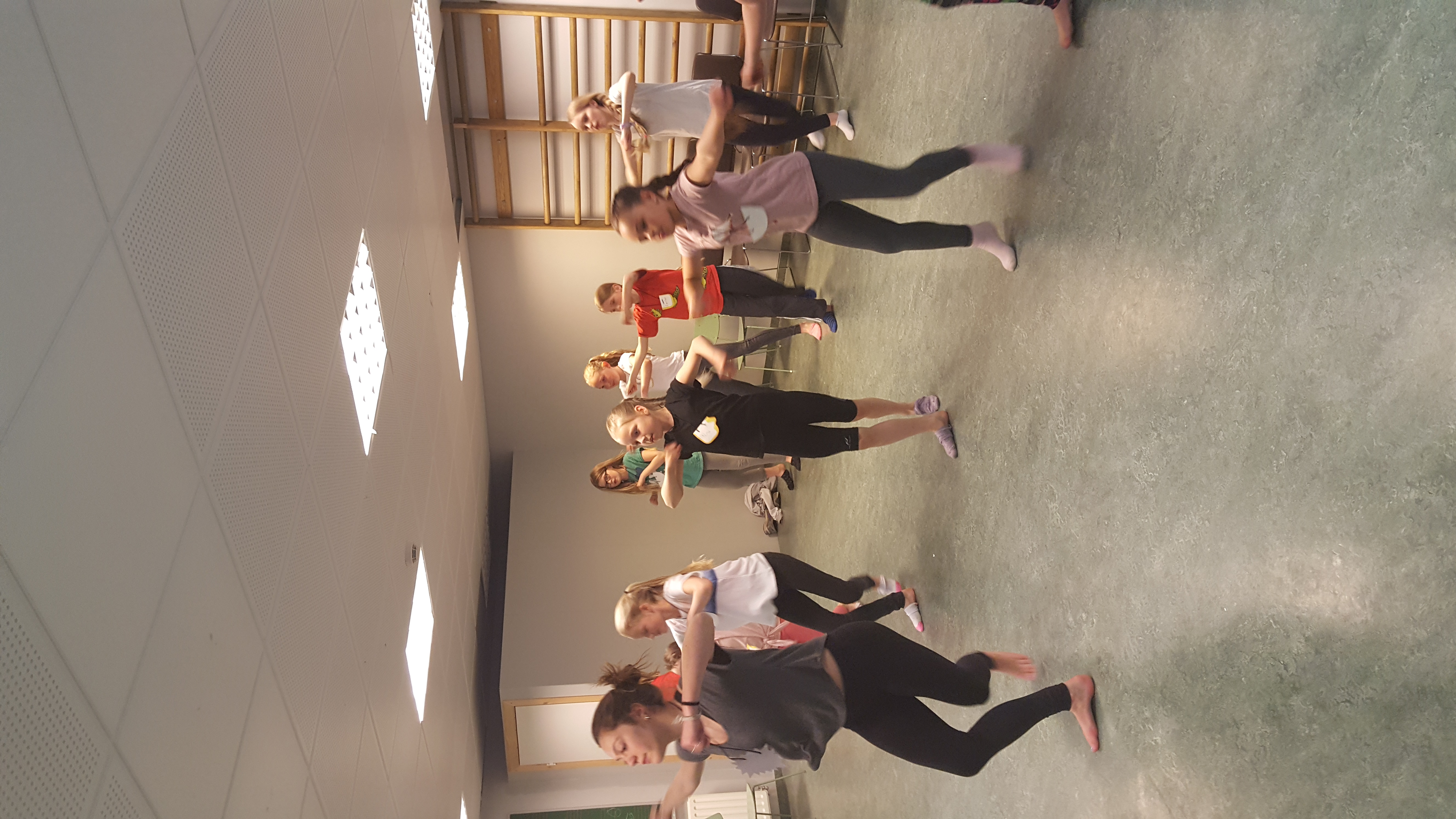 Chloe Lang Dance Class