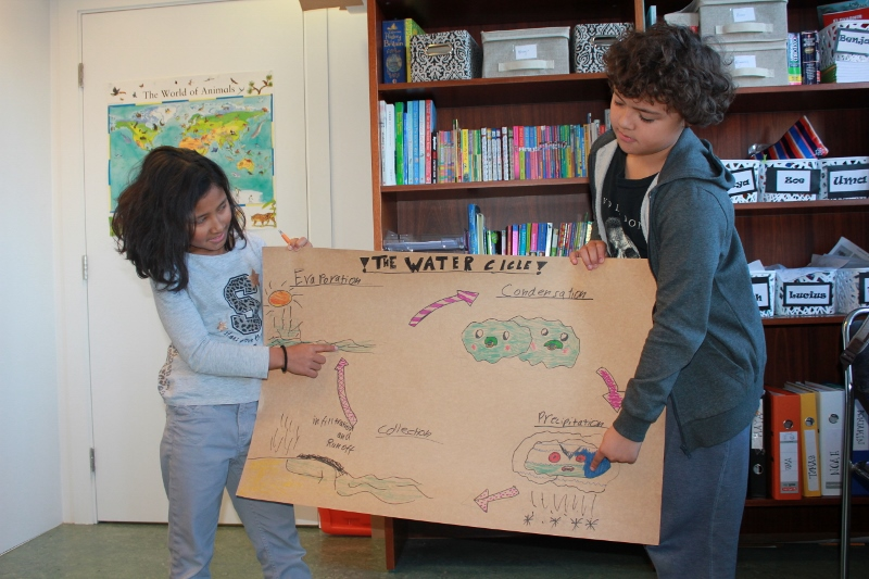 Presenting the Water Cycle