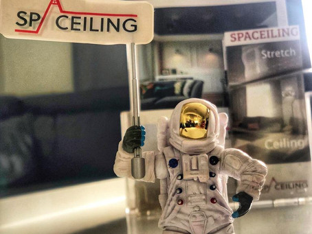 Please welcome SpaCeiling new friend Spaceman X.