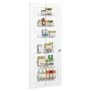10 Things to Buy from The Container Store for a More Organized Home   Getting it Done Organizing   Utility Pantry Door & Wall Rack