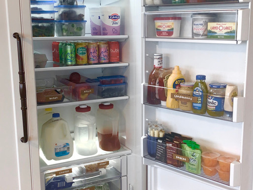 6 Tips for an Organized Refrigerator