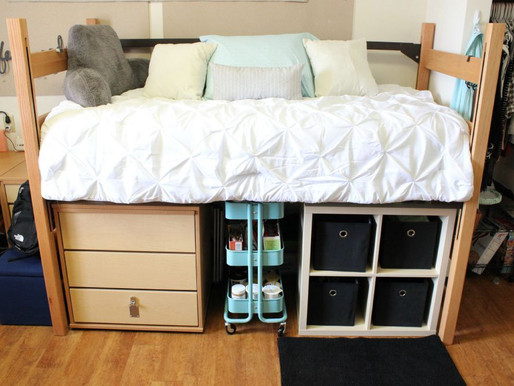 Tips for Organizing Your Child's College Dorm Room