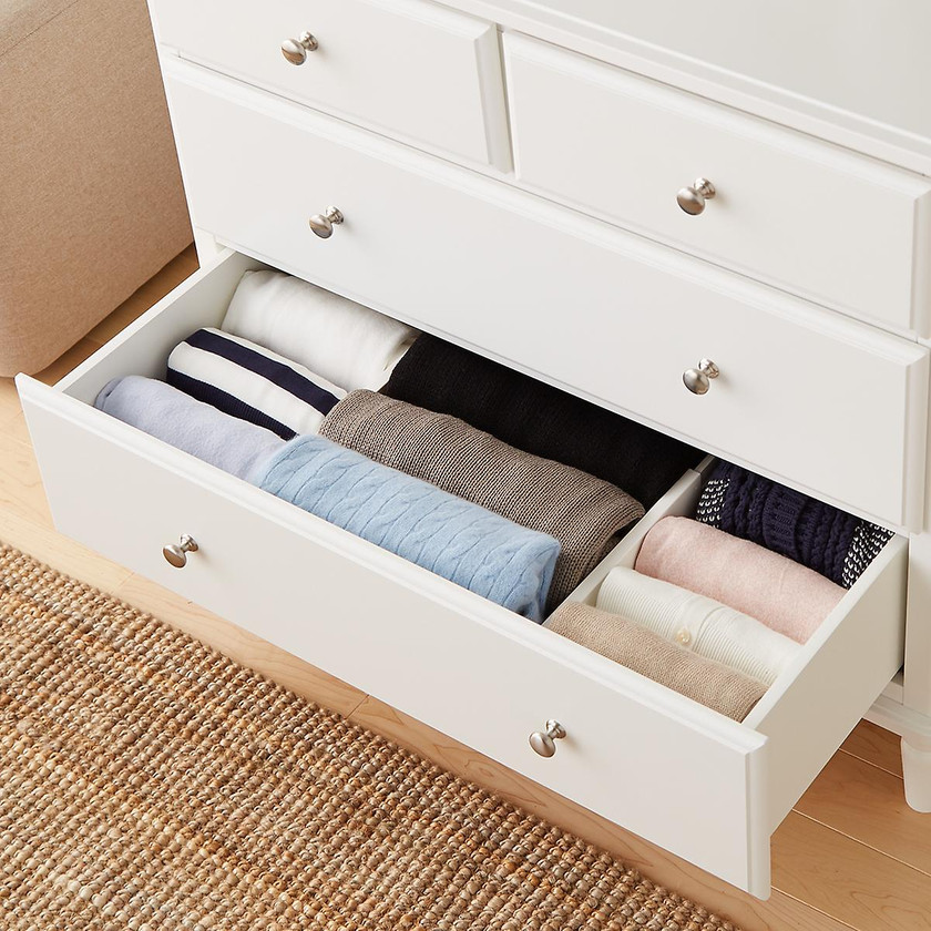 10 Things to Buy from The Container Store for a More Organized Home   Getting it Done Organizing   drawer dividers