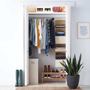 10 Things to Buy from The Container Store for a More Organized Home   Getting it Done Organizing   Canvas hanging organizer